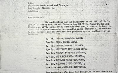 Carta Inspector Provincial del Trabajo
