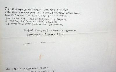 Documento de Taller Encuentro con frase de Miguel Enríquez