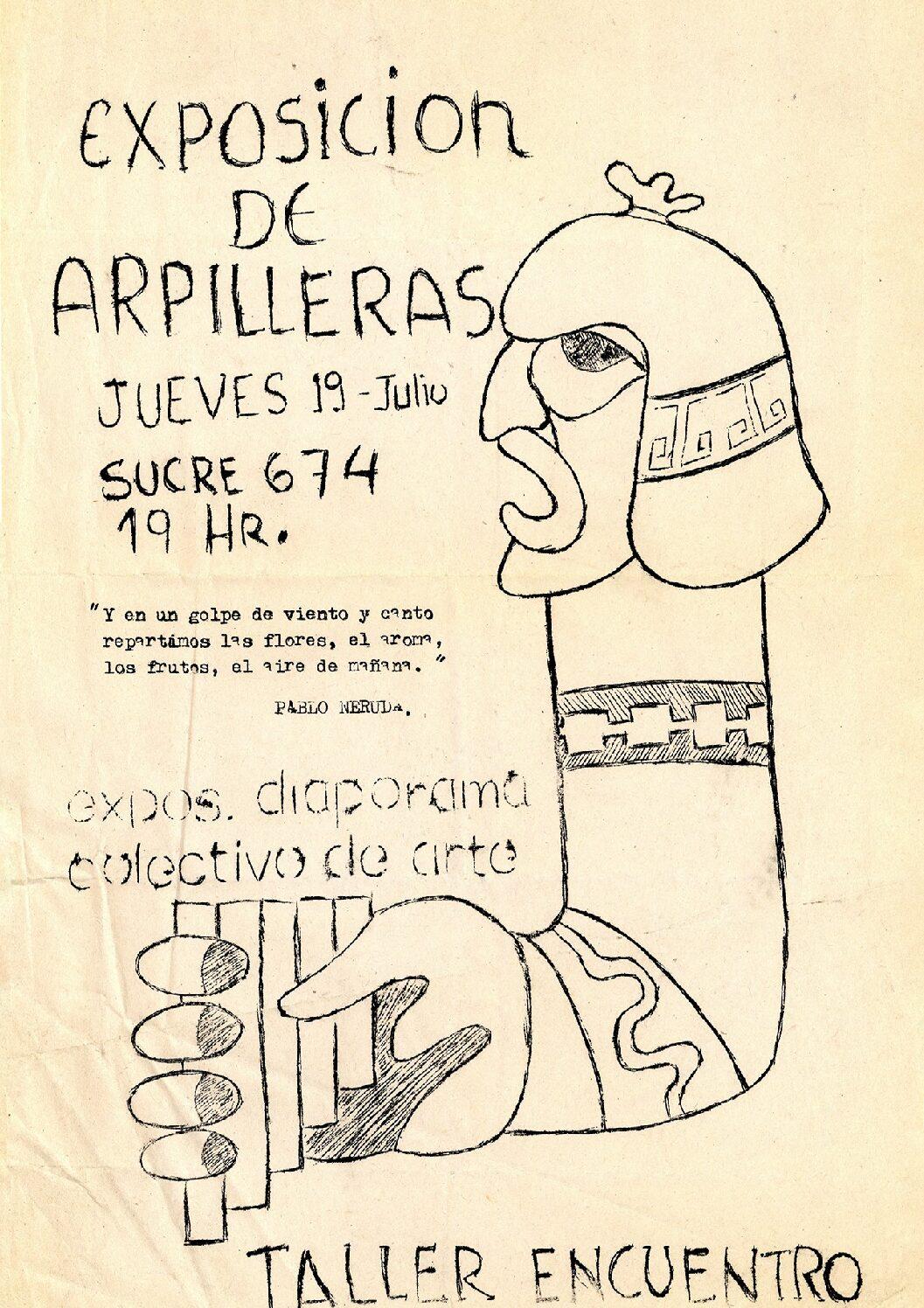 Exposición de Arpilleras
