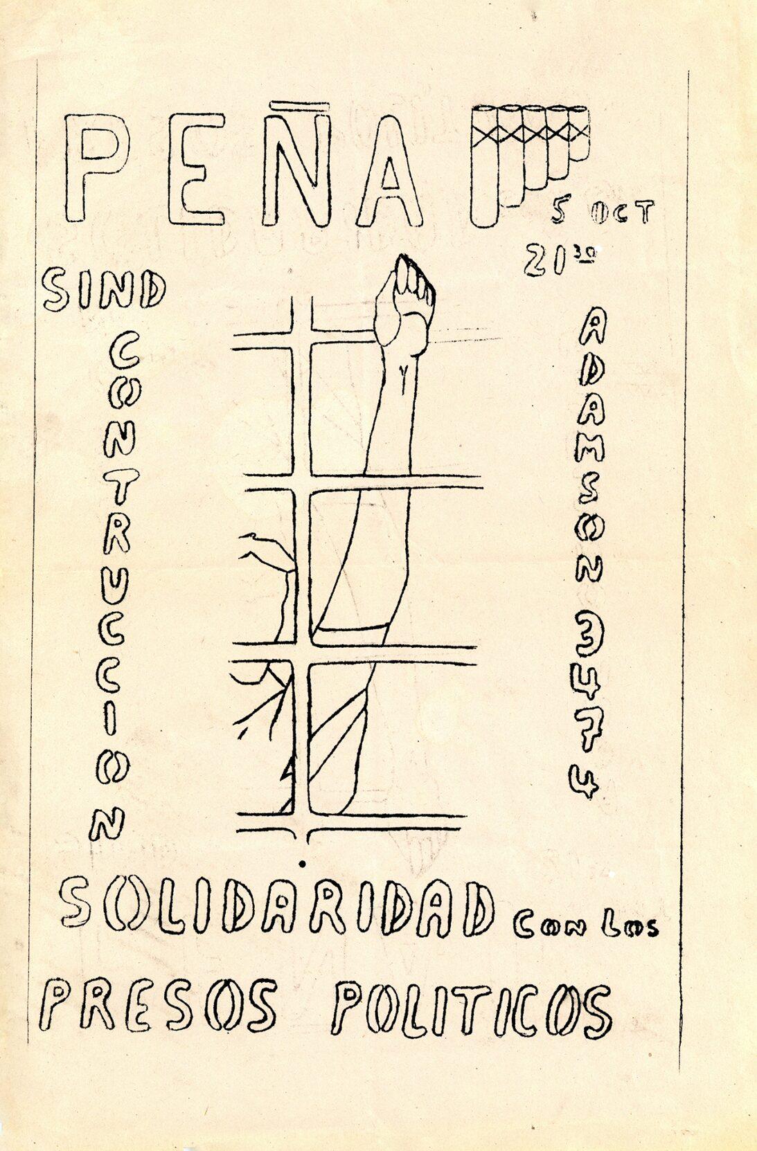 Peña Solidaridad Presos Políticos