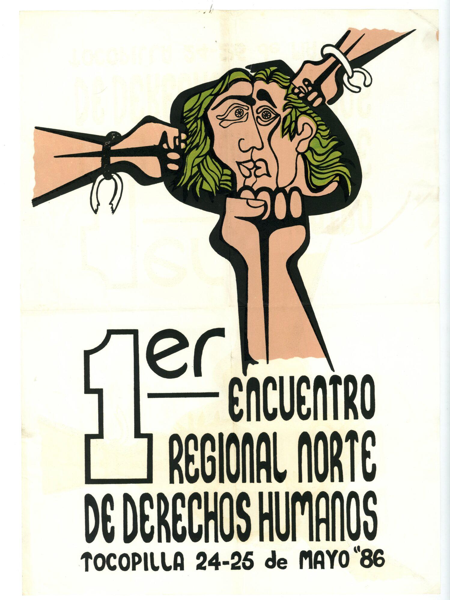 1er Encuentro Regional Norte de Derechos Humanos – Tocopilla. 24-25 de mayo '86