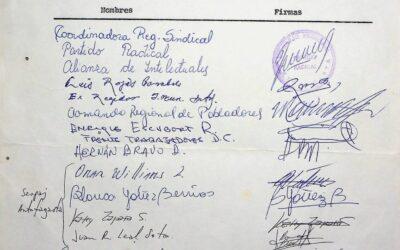 Carta a los compañeros detenidos